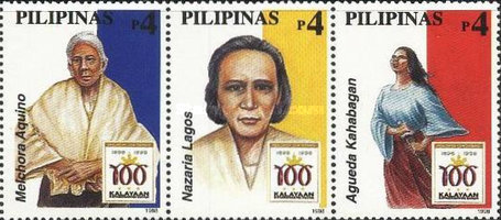 [The 100th Anniversary of Declaration of Philippine Independence - Women Revolutionaries, Typ ]