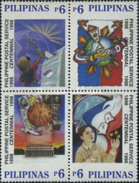 [The 100th Anniversary of Postal Service, Typ ]