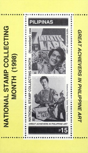[National Stamp Collecting Month - Film Posters, Typ ]