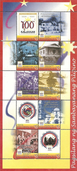 [The 100th Anniversary of Declaration of Philippine Independence, Typ ]
