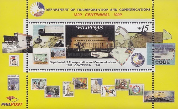 [The 100th Anniversary of Department of Transportation and Communication, Typ ]