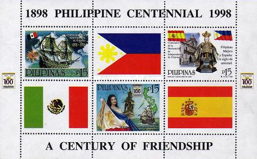 [The 25th Anniversary of International Philippine Philatelic Society - Issues of 19998 Overprinted