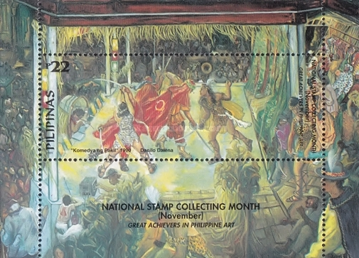 [National Stamp Collecting Month - Art, Typ ]