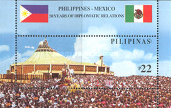 [The 50th Anniversary of Philippine-Mexico Diplomatic Relations, Typ ]