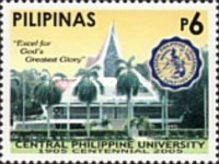 [The 100th Anniversary of the Central Phillipine University, Typ ]