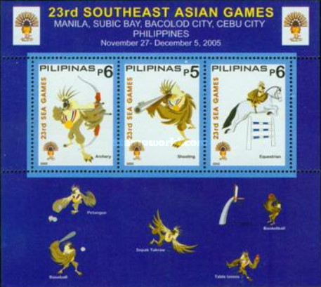 [The 23rd South East Asian Games, Typ ]