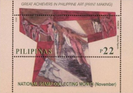 [National Stamp Collection month, Typ ]