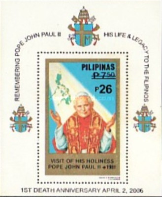 [The 1st Anniversary of the Death of Pope John Paul II, Typ ]