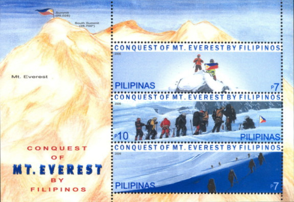 [Conquest of Mount Everest by Philipinos, Typ ]