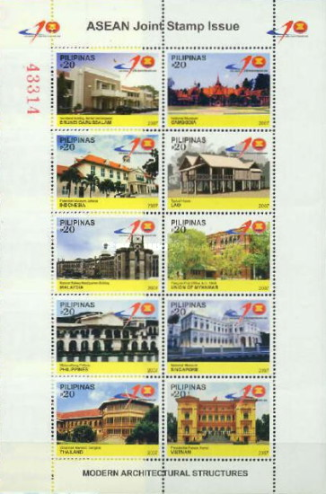 [The 40th Anniversary of ASEAN, type ]