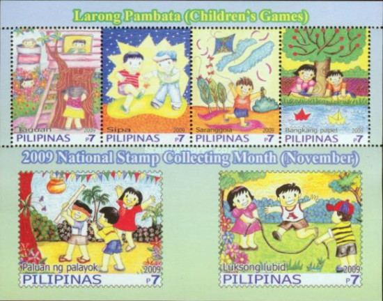 [National Stamp Collectig Month, Typ ]