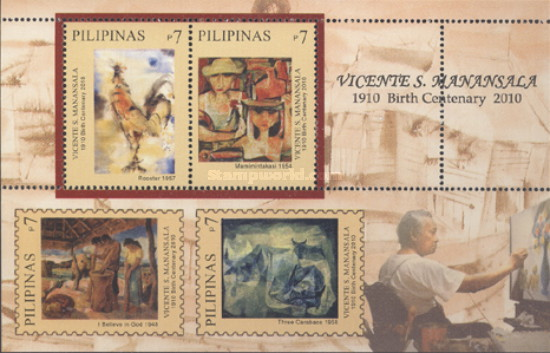 [Paintings - The 100th Anniversary of the Birth of Vincente S. Manansala, 1910-1981, Typ ]