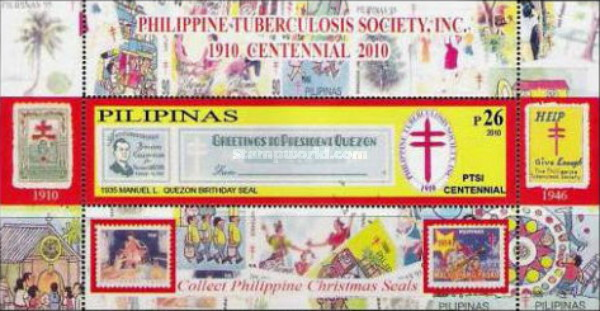 [The 100th Anniversary of the Philippine Tuberculosis Society, Typ ]