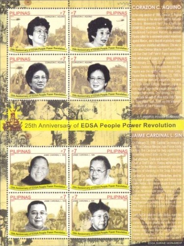 [The 25th Anniversary of the EDSA - People Power Revolution, Typ ]