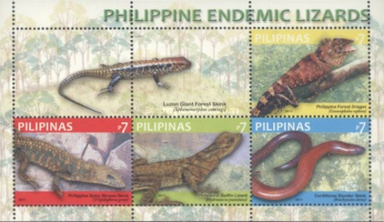 [Endemic Lizards, Typ ]