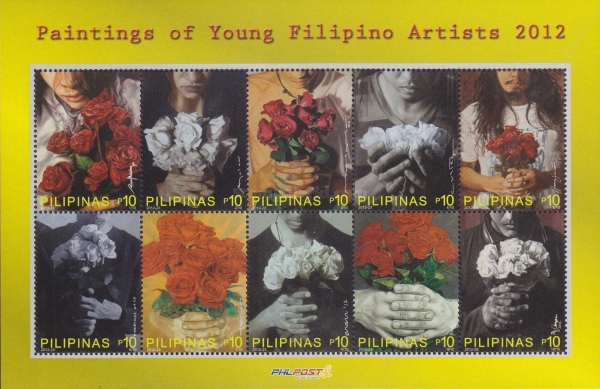 [Paintings of Young Filipino Artists, Typ ]