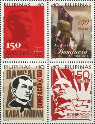 [The 150th Anniversary of the Birth of Andrés Bonifacio, 1863-1897, Typ ]