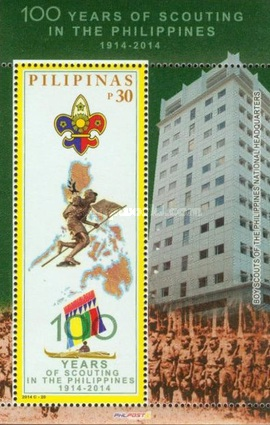 [The 100th Anniversary of Scouting in the Philippines, Typ ]