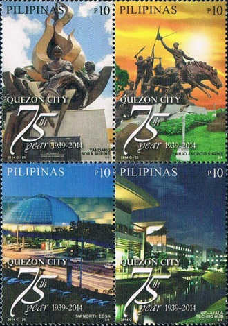 [The 75th Anniversary of the Quezon City, Typ ]