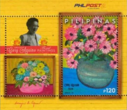 [Floral Paintings - The 6th Anniversary of the Death of Cory Aquino, 1933-2009, Typ ]