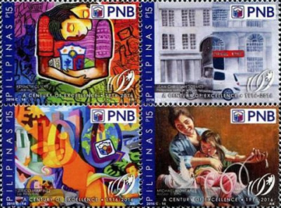 [The 100th Anniversary of the Philippine National Bank, Typ ]
