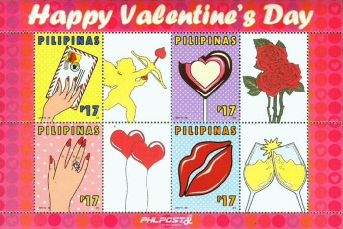 [Valentine's Day - Personalized Stamps, Typ ]