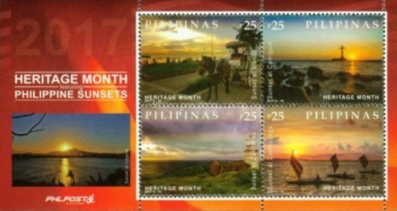 [National Heritage Month - Philippine Sunsets, Typ ]
