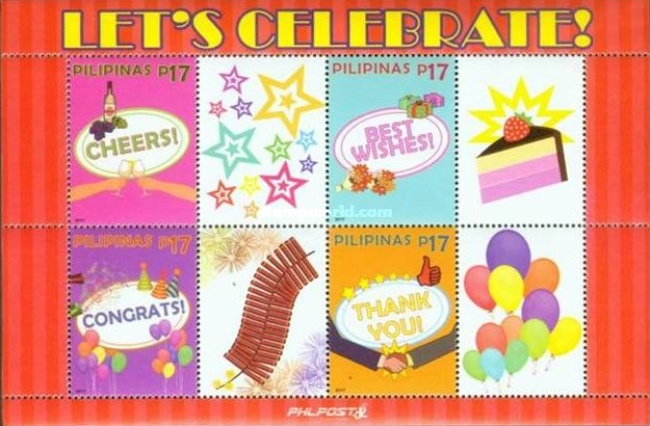 [Let's Celebrate! - Personalized Stamps, Typ ]