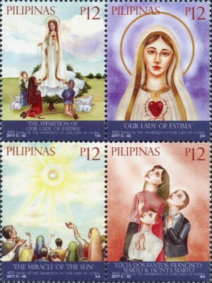 [The 100th Anniversary of the Apparition of Our Lady of Fatima, Typ ]