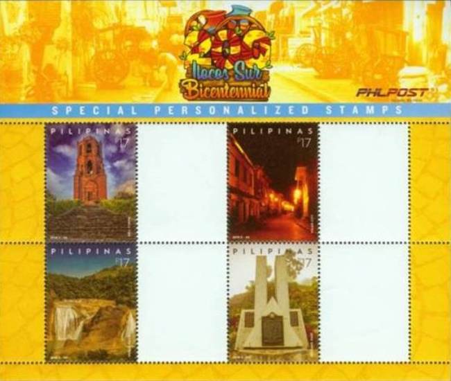 [The 200th Anniversary of the Ilocos Sur Province - Personalized Stamps, Typ ]