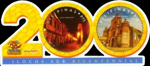 [The 200th Anniversary of the Ilocos Sur Province, Typ ]