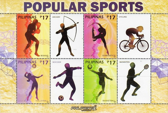 [Popular Sports - Personalized Stamps, Typ ]