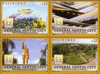 [The 50th Anniversary of the  General Santos City, Typ ]