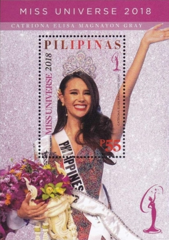 [Catriona Gray - Miss Universe 2018, type ]