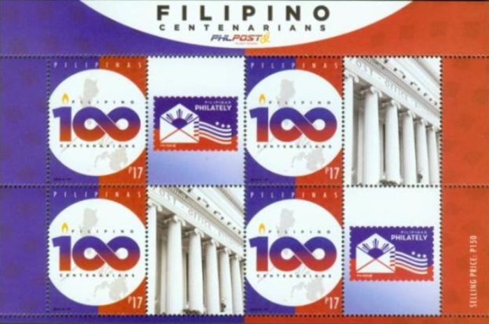 [Filipino Centenarians - Personalized Labels, Typ ]