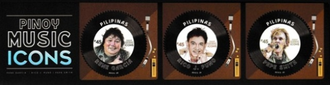 [National Stamp Collecting Month - Pinoy Music Icons, Typ ]