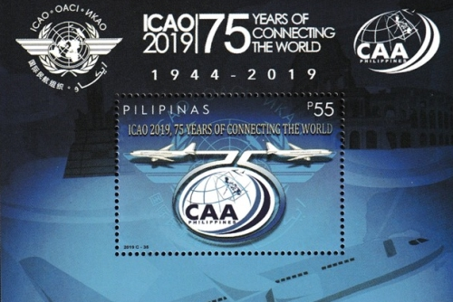 [The 75th Anniversary of the ICAO - International Civil Aviation Organizarion, Typ ]