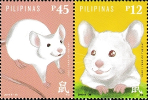 [Chinese New Year 2020 - Year of the Rat, Typ ]