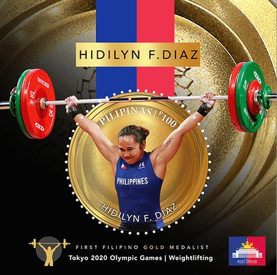 [Hidilyn F. Diaz - First Filipino Olympic Gold Medalist - Tokyo 2020 Olympic Games - Weightlifting, type ]