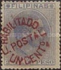 [No. 71 Surcharged & Overprinted