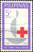 [The 100th Anniversary of International Red Cross, type AAB]