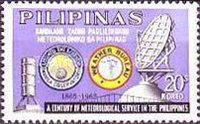 [The 100th Anniversary of Philippines Meteorological Services, Typ AAX2]
