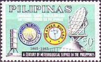 [The 100th Anniversary of Philippines Meteorological Services, Typ AAX3]
