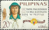 [The 25th Anniversary of Philippines Girl Scouts, Typ ABM3]
