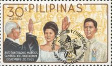 [Manila Summit Conference - Issues of 1966 Overprinted