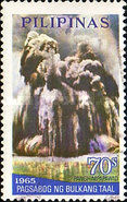 [Airmail - The 3rd Anniversary of the Taal Volcano Eruption (1965), Typ ACP]