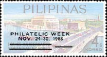 [Philatelic Week - Issue of 1967 Overprinted