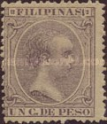 [King Alfonso XIII - New Values and/or Colours, Typ AE10]