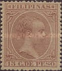 [King Alfonso XIII - New Values and/or Colours, Typ AE19]