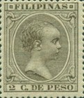[King Alfonso XIII - New Colors & Values, type AE38]